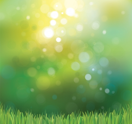 Illustration for Vector nature background  - Royalty Free Image