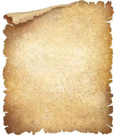 Illustration pour Vector old paper texture. - image libre de droit