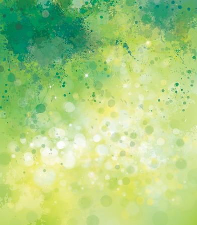 Illustration pour Vector abstract spring  background. - image libre de droit