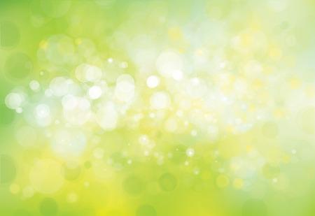 Ilustración de Vector green lights background. - Imagen libre de derechos