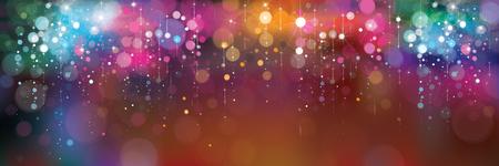 Illustration pour Vector colorful lights background. - image libre de droit