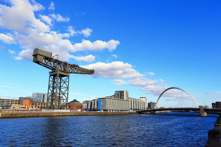 Photo for Glasgo with the River Clyde for your travel concept - Royalty Free Image