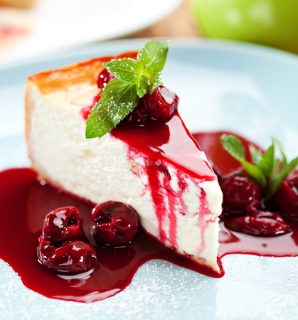 Photo for Dessert - Cheesecake - Royalty Free Image