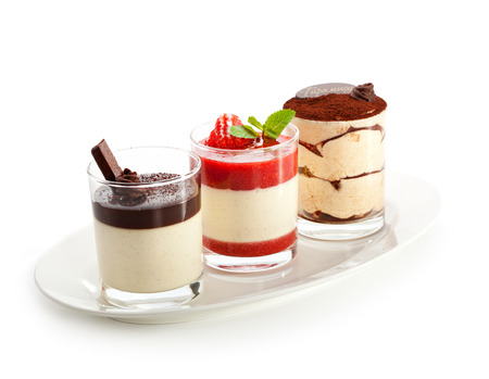 Photo for Desserts - Panna Cotta - Royalty Free Image