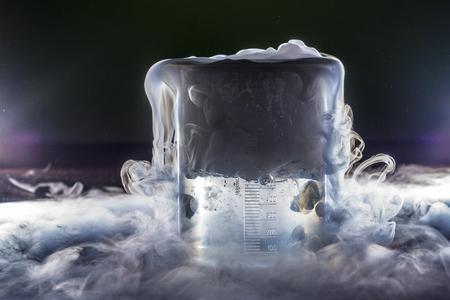Foto de Dry ice smoke - Imagen libre de derechos