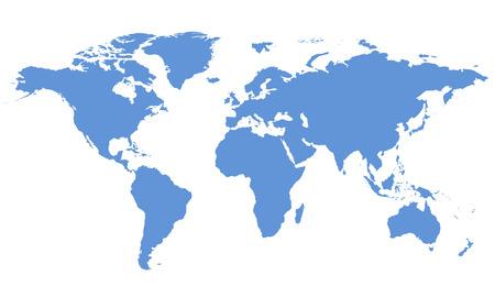 Photo pour World map - image libre de droit
