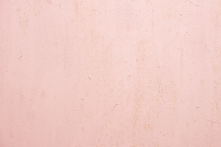 Photo for Light pink painted wall with rough texture plaster background - Royalty Free Image