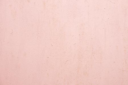 Photo pour Light pink painted wall with rough texture plaster background - image libre de droit