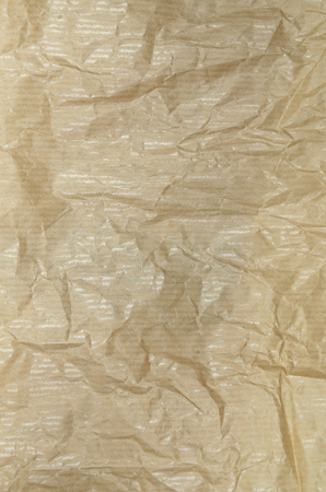 Blank Grease Proof Paper, close up, vertical