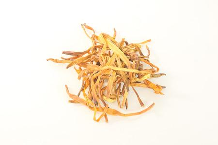 Foto de Dried daylily can be a component of many foods. - Imagen libre de derechos