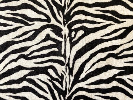 Foto de White tiger skin texture detail and close up - Imagen libre de derechos