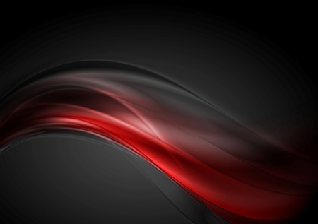 Foto de Dark red glow waves background. - Imagen libre de derechos