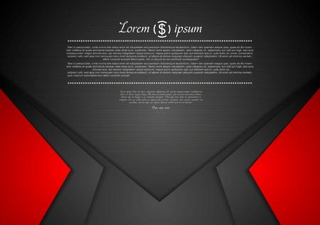 Photo pour Vibrant corporate abstract background. Vector design - image libre de droit
