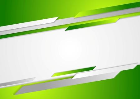 Foto de Abstract green corporate background. Vector design - Imagen libre de derechos