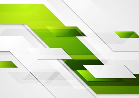 Ilustración de Green tech corporate motion background.  - Imagen libre de derechos