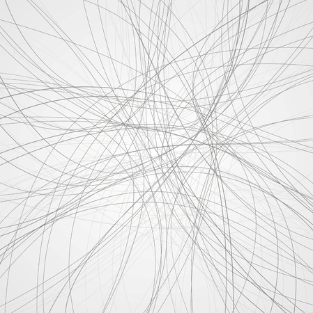 Illustration pour Abstract grey lines background. Vector design - image libre de droit
