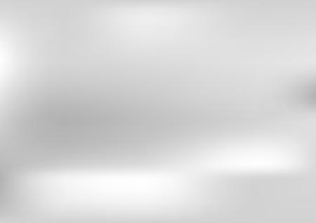 Illustration pour Shiny grey pearl gradient abstract background. Vector design - image libre de droit
