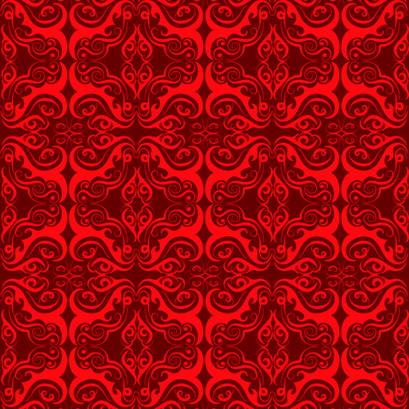 Ilustración de luxury ornamental background. Damask floral pattern. Royal wallpaper. - Imagen libre de derechos