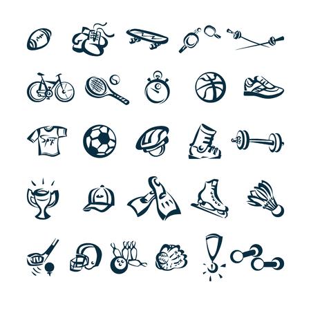 Ilustración de Sport drawing cartoon icon Vector Illustration - Imagen libre de derechos