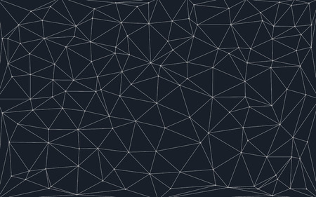 Photo pour low poly background with connecting dots and lines - image libre de droit