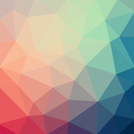 Illustration pour Light pastel color vector Low poly crystal background. Polygon design pattern. Low poly illustration background. - image libre de droit