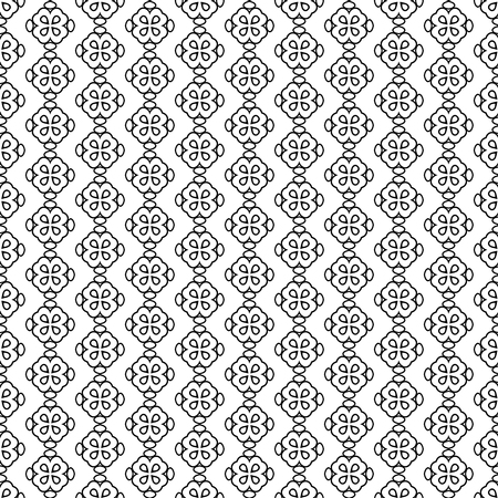 Ilustración de Seamless pattern line decoration abstract vector background design - Imagen libre de derechos