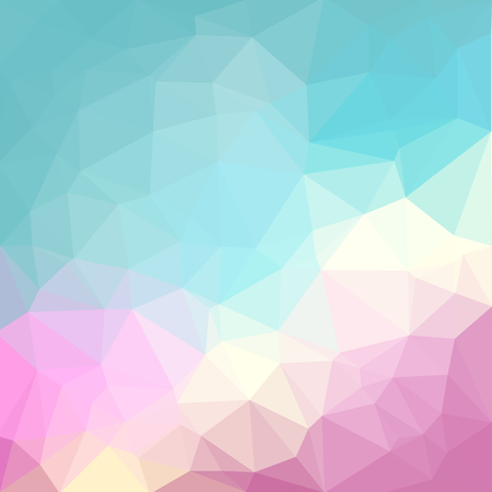 Photo pour Light pastel color vector Low poly crystal background. Polygon design pattern. Low poly illustration background. - image libre de droit