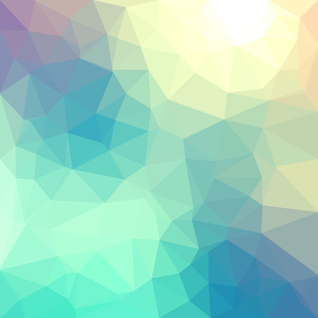 Ilustración de Light pastel color vector Low poly crystal background. Polygon design pattern. Low poly illustration background. - Imagen libre de derechos