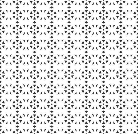 Ilustración de Abstract geometric Seamless pattern . Repeating geometric Black and white texture. geometric decoration - Imagen libre de derechos