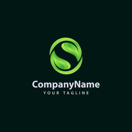 Ilustración de Letter S logo / symbol - vector icon - Imagen libre de derechos