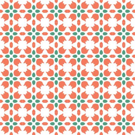Ilustración de Abstract seamless ornament pattern. Vector illustration. - Imagen libre de derechos