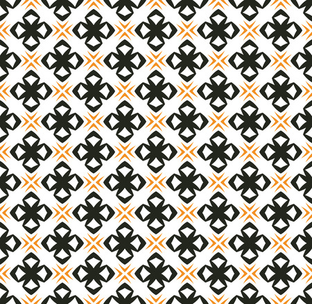 Illustration for simple ornament seamless pattern background - Royalty Free Image