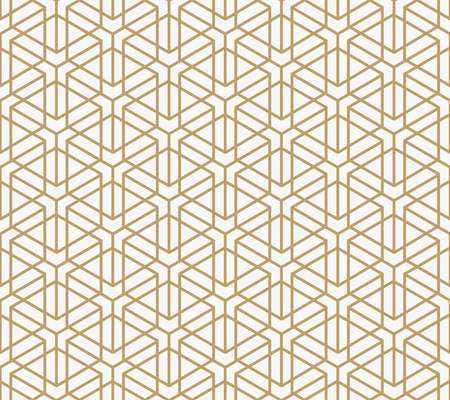 Illustration pour geometric seamless pattern with line, modern minimalist style pattern background - image libre de droit