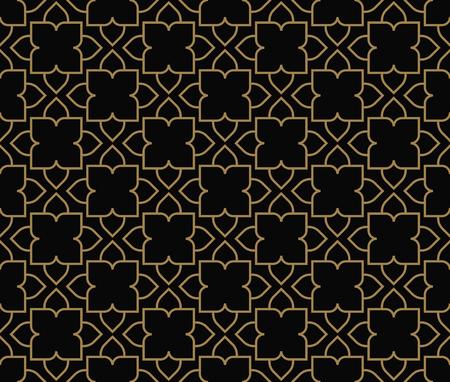 Illustration pour Modern Luxury geometrical ornaments with lines - image libre de droit