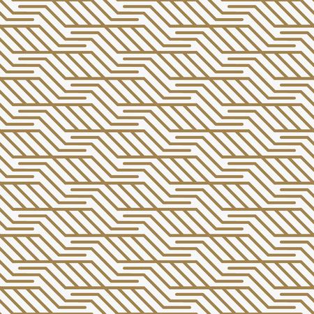 Illustration pour Modern Luxury stylish geometric textures with lines patterns - image libre de droit
