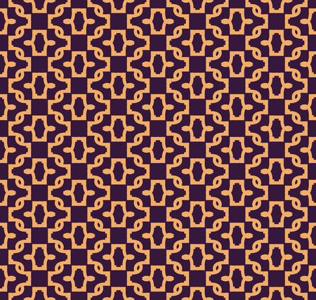 Ilustración de Vector seamless pattern. Modern stylish abstract texture. Repeating geometric linear tiles pattern background - Imagen libre de derechos