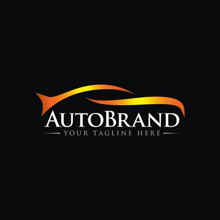 Illustration pour luxury Car Automotive Vector Logo Template - image libre de droit