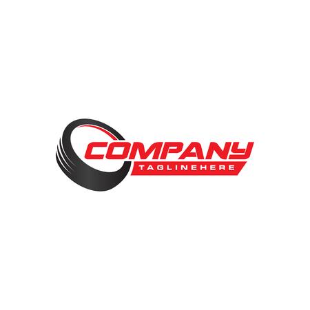 Illustration pour Tyre Shop Logo Design . Tyre Business Branding - image libre de droit