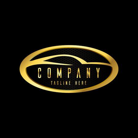 Illustration pour modern car emblems, badges logo design template for car service, tire service, wash and detailing. - image libre de droit