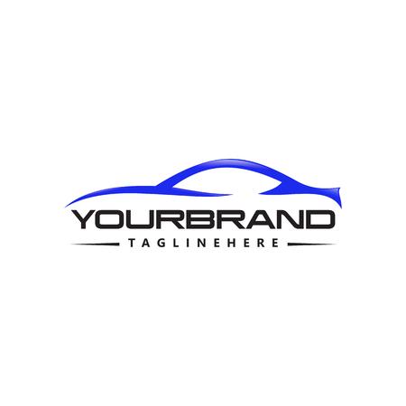 Illustration pour Car Logo Vector logo design - image libre de droit