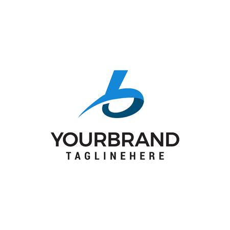 Ilustración de Letter B logo icon design template elements - Imagen libre de derechos