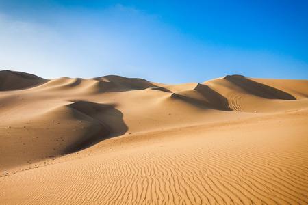 Photo for Huacachina desert dunes in Ica Region, Peru - Royalty Free Image