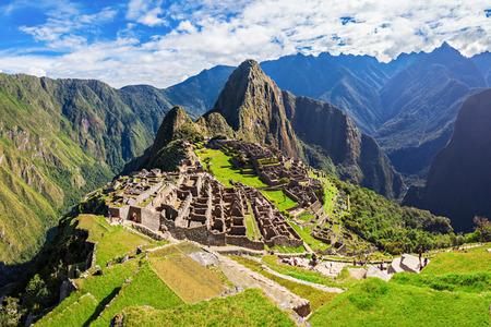 Photo pour Machu Picchu is one of the New Seven Wonders of the World. - image libre de droit