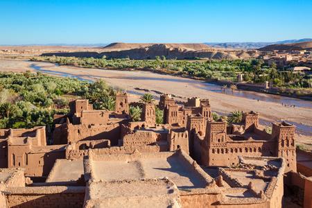 Foto de Ait Ben Haddou is a fortified city near ouarzazate in Morocco. - Imagen libre de derechos