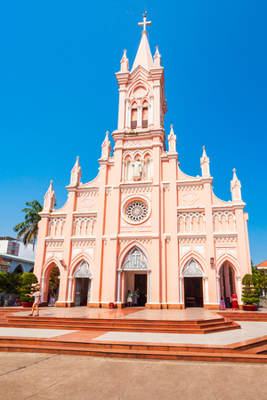 Photo for Da Nang Cathedral is a catholic church in Danang city in Vietnam - Royalty Free Image