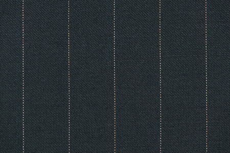 Photo for Close up of pinstriped fabric texture background. Detail of Knit wool suiting - Royalty Free Image