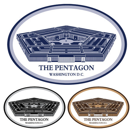 Foto de Pentagon- detailed vector illustration - Imagen libre de derechos