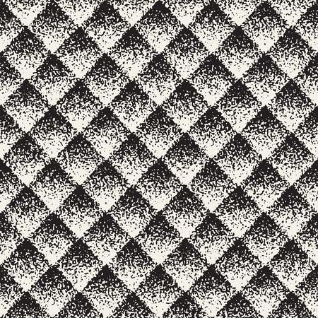 Ilustración de Abstract noisy textured geometric shapes background - Imagen libre de derechos