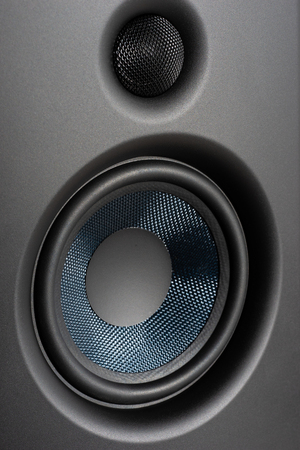 Photo for Speakers studio monitor, closeup - Royalty Free Image