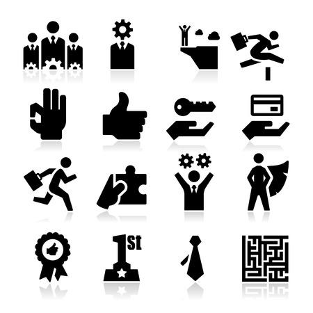 Ilustración de Business Icons  - Imagen libre de derechos